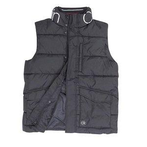 Calvin Klein Men's Quilted Winter Vest Sz Med